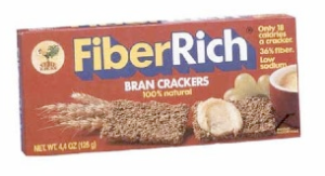 An impressive 5 grams of fiber per serving