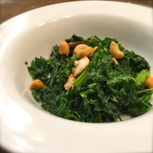 The less is more approach to kale...